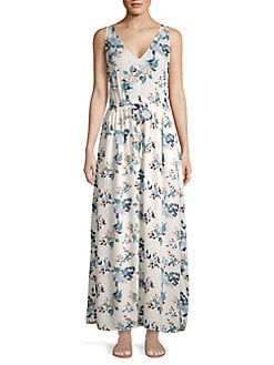 3f821ad07a QUICK VIEW. Lucky Brand. Floral-Print Maxi Dress