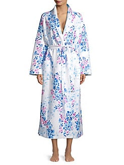 ff974ec3a334 Floral Quilted Long Robe WATERCOLOR. QUICK VIEW. Product image. QUICK VIEW. Carole  Hochman