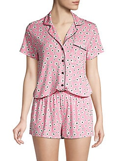 87f05f9ead0 ... Short-Sleeve Pajama Set PINK FLORAL. QUICK VIEW. Product image