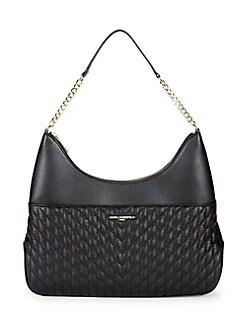 Product image. QUICK VIEW. Karl Lagerfeld Paris. Janelle Leather Shoulder  Bag df8202ceb2f48