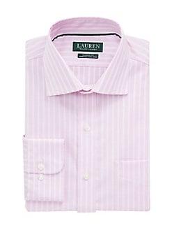 068064676d32d Product image. QUICK VIEW. Lauren Ralph Lauren. Classic-Fit No-Iron  Wide-Stripe Dress Shirt