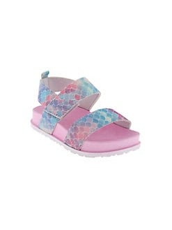 be68d456f80b2 Product image. QUICK VIEW. Capelli New York. Little Girl s Rainbow Mermaid  Scale Sandals