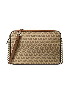 ede8e29f0982 QUICK VIEW. MICHAEL Michael Kors. Large East West Monogram Crossbody Bag