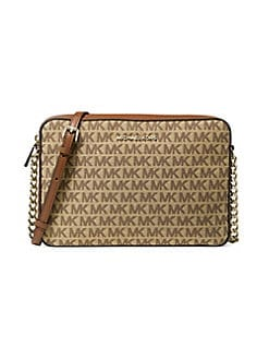c8d2f2467d29 QUICK VIEW. MICHAEL Michael Kors. Large East West Monogram Crossbody Bag
