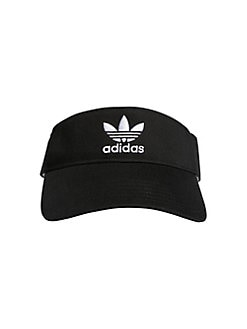 b4da13450fec6 QUICK VIEW. Adidas. Originals Logo Cotton Visor.  20.00 · Logo Baseball Cap  BLACK