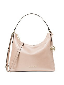 b23395e006c6 Large Aria Shoulder Bag LUGGAGE. QUICK VIEW. Product image. QUICK VIEW. MICHAEL  Michael Kors