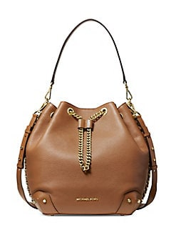 766eaac73f5f QUICK VIEW. MICHAEL Michael Kors. Large Alanis Leather Bucket Bag