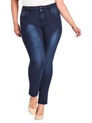 Image of Plus Harley Skinny Jeans