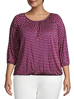 62cfc2adfd76 Plus Size Womens Shirts & Tops | Lord + Taylor