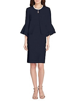 fcad6e5232a QUICK VIEW. Tahari Arthur S. Levine. 2-Piece Puff Sleeve Jacket   Dress Set