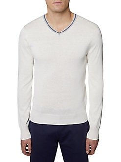 550cfabecf ... Cotton Blend Sweater NAVY. QUICK VIEW. Product image