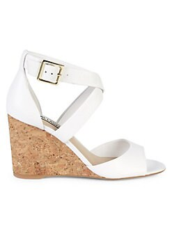a329758c90a0 QUICK VIEW. Karl Lagerfeld Paris. Radka Leather Wedge Sandals
