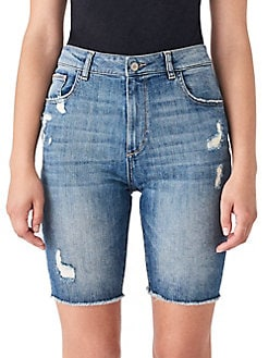 7bffecc8e QUICK VIEW. DL1961. Jerry Vintage Denim Bermuda Shorts