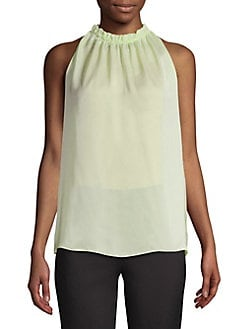 989a2af4d0275e QUICK VIEW. Bailey 44. Ruffle Sleeveless Top