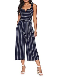 fd3ead715530 Product image. QUICK VIEW. QUIZ. Striped Self-Tie Jumpsuit