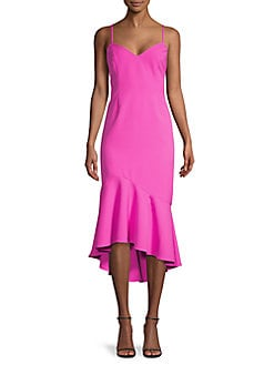 c2767a35 Product image. QUICK VIEW. Bardot. Lisandra Ruffled Midi Dress