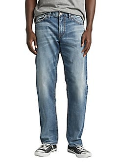 26eb6bd7918ba5 Product image. QUICK VIEW. Silver Jeans Co. Hunter Loose Fit Tapered Jeans