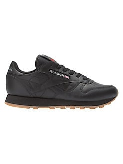 Product image. QUICK VIEW. Reebok. Lace-Up Leather Sneakers 8207a7a3040