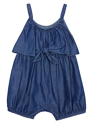 9b187850a Habitual - Baby Girl's Willow Bow-Accented Striped Romper -  lordandtaylor.com