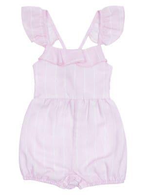 Image of Baby Girl's Stripe Romper