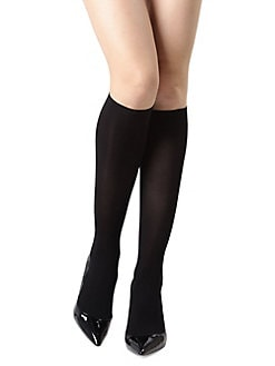 1d22639475a Product image. QUICK VIEW. Natori. Perfect Opaque Comfort Knee High Socks