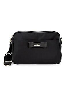 337d88a869729d Product image. QUICK VIEW. Karl Lagerfeld Paris. Penny Nylon Messenger Bag