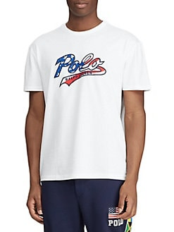9b9e96be QUICK VIEW. Polo Ralph Lauren. Classic-Fit Jersey Graphic Tee