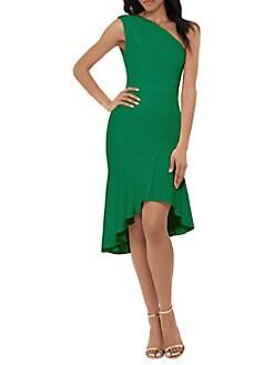 0e2f551accf QUICK VIEW. Xscape. One-Shoulder Scuba Crepe Dress