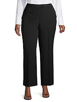 a141ac5606f5f Plus Size Pants: Dress Pants, Capris & More   Lord + Taylor