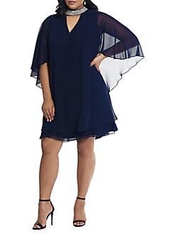 59d798e07842 Women - Extended Sizes - Plus Size - Dresses & Jumpsuits - Cocktail ...