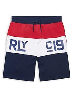 8912b2c8a9 QUICK VIEW. Ralph Lauren Childrenswear. Boy's Cotton French Terry Shorts. $ 49.50