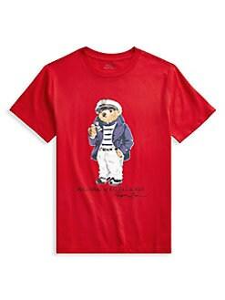 fc9603420 QUICK VIEW. Ralph Lauren Childrenswear. Boy's Graphic Cotton Tee