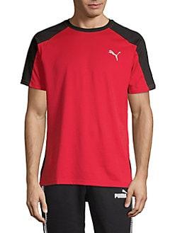 6dc2a862 Product image. QUICK VIEW. PUMA. Colorblocked Short-Sleeve Tee