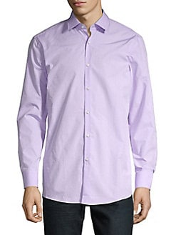 da68afe8c9b Product image. QUICK VIEW. HUGO. Mabel Dotted Button Down Shirt