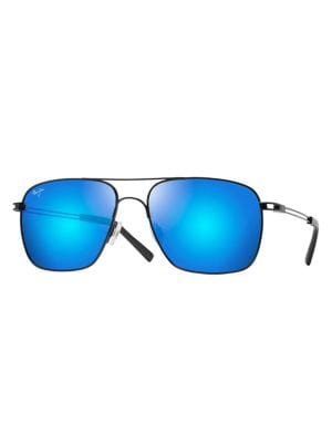 Image of Haleiwa 56MM Aviator Polarized Sunglasses
