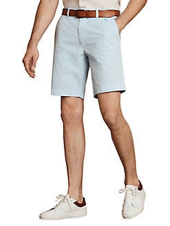 b8b1dd74de QUICK VIEW. Brooks Brothers Red Fleece. Seersucker Cotton Shorts
