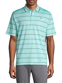 Callaway Oxford Stripe Polo Shirt