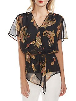 29190acd34608 QUICK VIEW. Vince Camuto. Oasis Paisley Spice Blouse