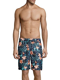 03644d80fd Product image. QUICK VIEW. SURFSIDESUPPLY. Tropical Printed Board Shorts