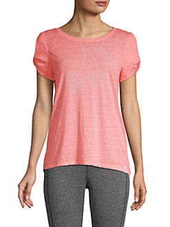 dfbd7b0c7c QUICK VIEW. Marc New York Performance. Embellished Roundneck Top