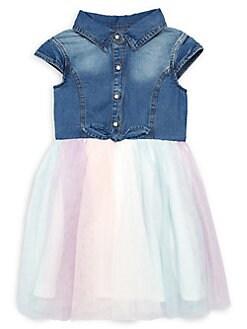 Baby & Toddler Clothing Good Lot Of 2 Baby Girl Dress Romper Nautica Calvin Klein Blue Denim 18 Mo & 2t
