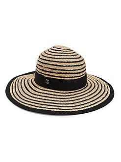 d59da528 Product image. QUICK VIEW. Dorfman Pacific. Wide-Brimmed Straw Hat