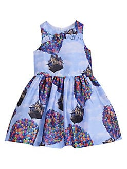 33d8f4d5cc2e Product image. QUICK VIEW. Pippa & Julie. Baby Girl's Disney Balloon Printed  Dress