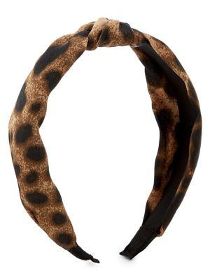Image of Animal-print headband