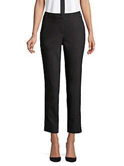 c3462cffb7 QUICK VIEW. Karl Lagerfeld Paris. Cropped Straight Leg Pants