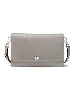 ce9d5d2ece63 QUICK VIEW. MICHAEL Michael Kors. Mercer Pebbled Leather Crossbody Bag