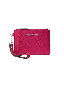 c831d75551a039 Product image. QUICK VIEW. MICHAEL Michael Kors. Small Leather Coin Purse