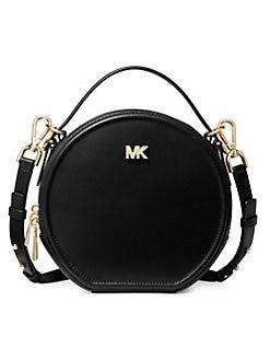8796f4dc3377 QUICK VIEW. MICHAEL Michael Kors. Medium Delaney Leather Circle Bag