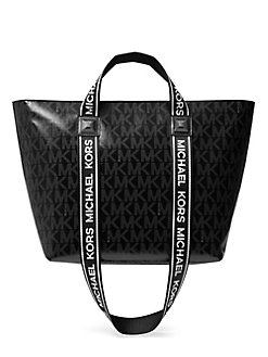 c25cd94a6096 QUICK VIEW. MICHAEL Michael Kors. Kallie Leather-Trimmed Convertible Tote