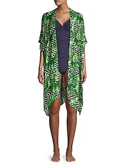 b0ee37e82e QUICK VIEW. Laundry by Shelli Segal. Tropical Print Coverup